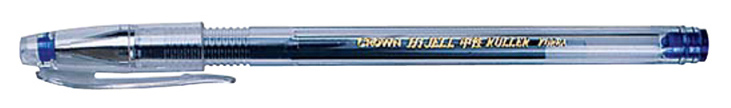 Ручка гелевая CROWN 0,25мм синяя