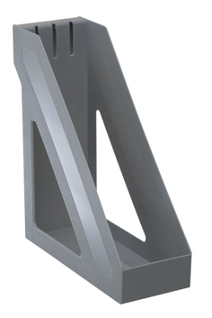 Лоток д/б вертикальный СТАММ серый БАЗИС