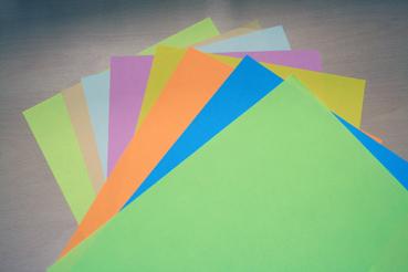 Бумага А4/160 цветная ассорти