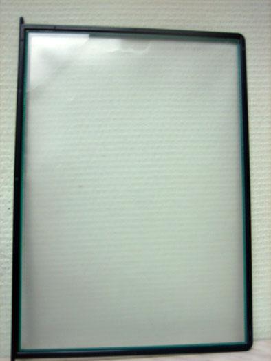 Обложка для скрепкошины А4 прозрачная DURABLE