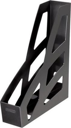 Лоток д/б вертикальный черный ЛИДЕР