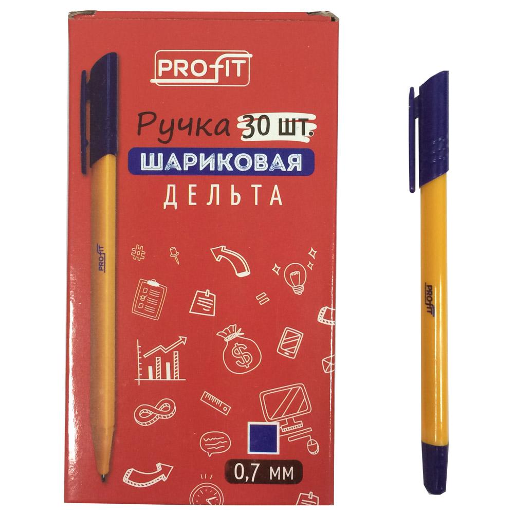 Ручка шариковая ДЕЛЬТА синяя