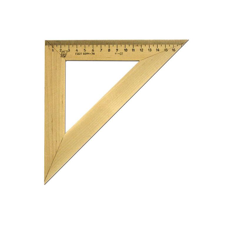 Треугольник 45*18см деревянный