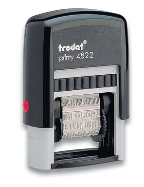 Штамп 12 бухгалтерских терминов TRODAT