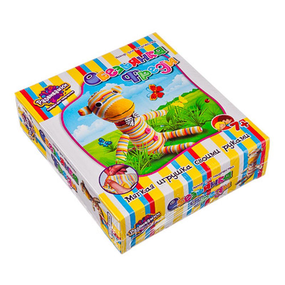 Шитье игрушки из носков ОБЕЗЬЯНКА ФРЕДИ