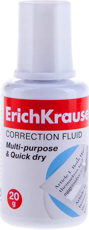 Корректор на спиртовой основе ERICH KRAUSE 20мл с кистью
