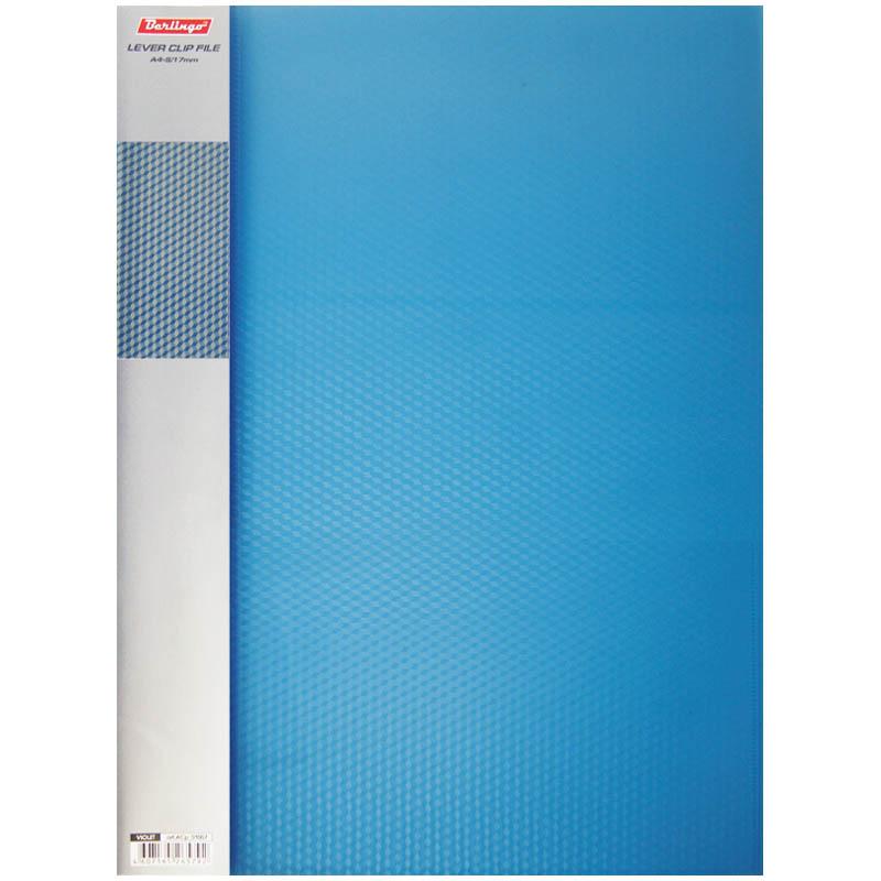 Папка с 1 зажимом DIAMOND 17мм 700мкм синяя