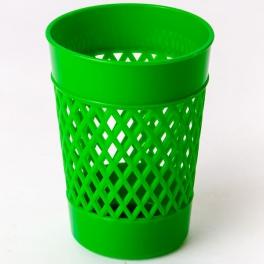 Стакан-подставка д/канцтоваров ОФИС зеленый