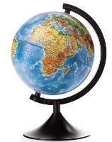 Глобус 210мм физический Классик