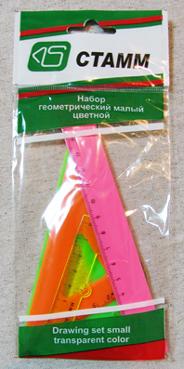 Набор геометрический малый цветной СТАММ