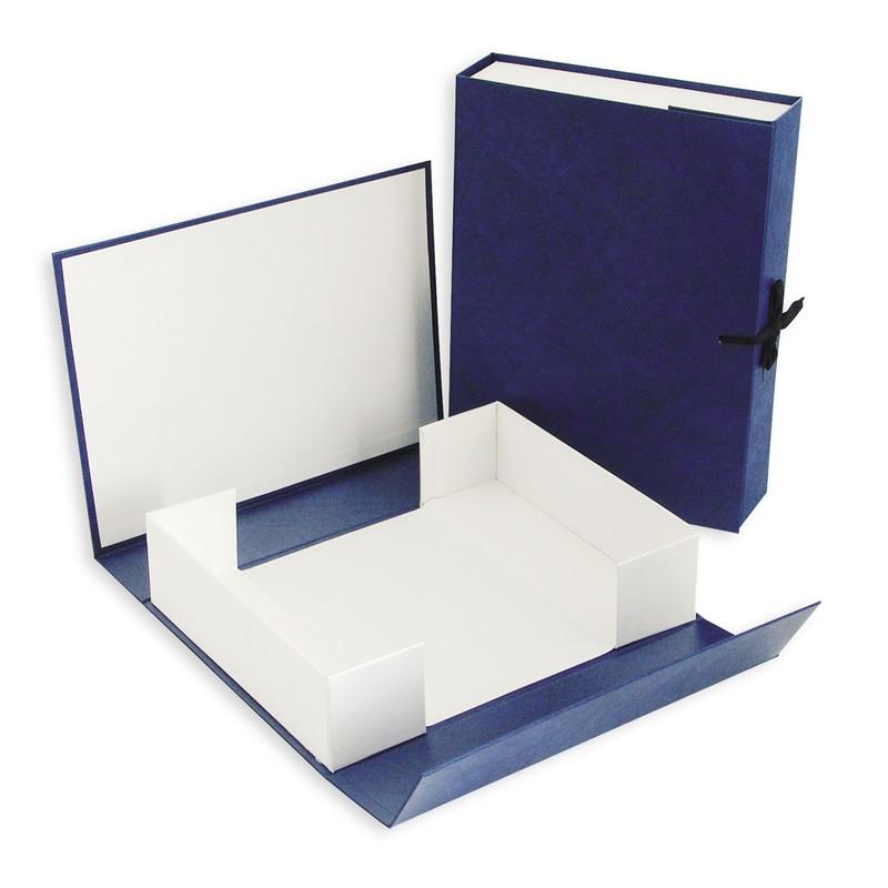 Короб архивный А4/120 бум/винил. завязки, разборный