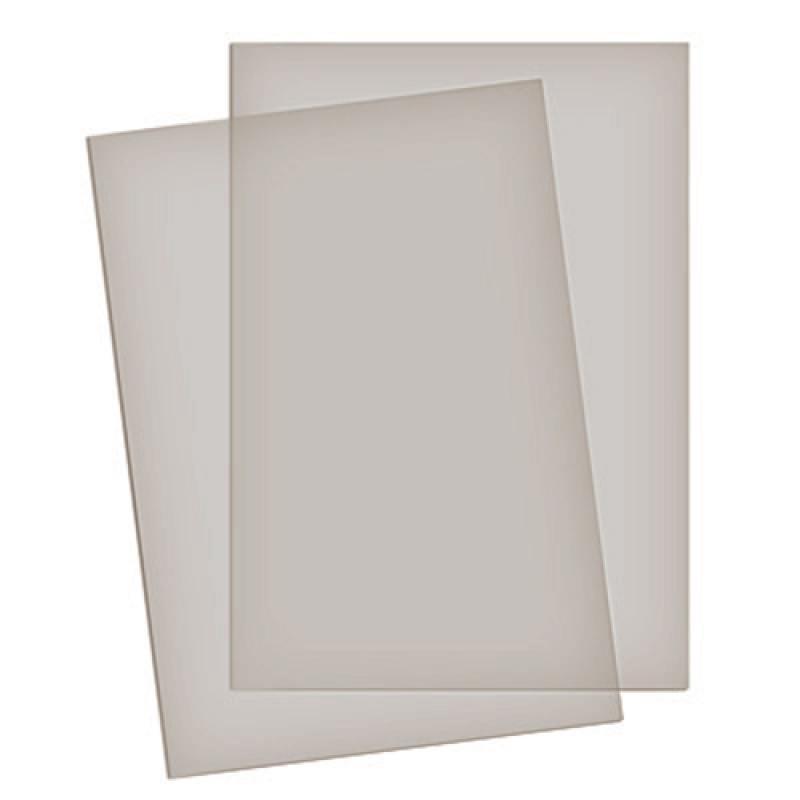Обложка д/брошюр пластик прозрачный 200мм