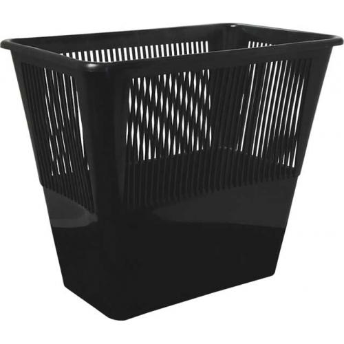 Корзина д/мусора 12л сетчатая черная