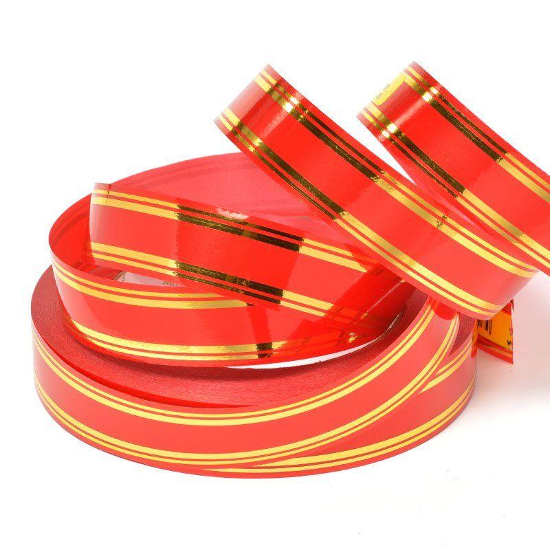 Лента 2см (золотая, красная)