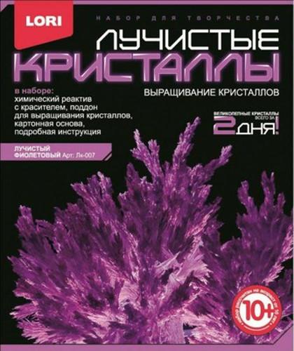 Выращивание кристаллов ФИОЛЕТОВЫЙ LORI