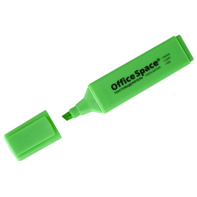 Т/выделитель OfficeSpace зеленый 1-5мм