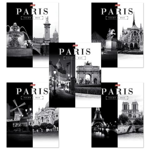 Тетрадь 60л клетка Париж