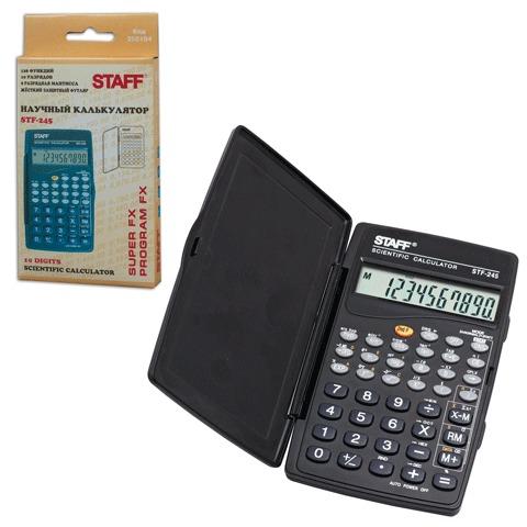 Калькулятор 10-разр 120*70мм инженерный STAFF