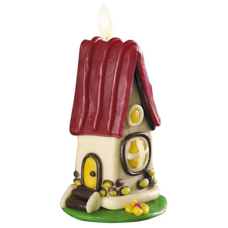 Лепим свечи Сказочный домик